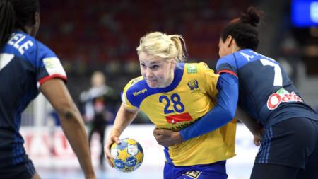 Sverige missar semifinal efter förlust mot Frankrike