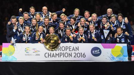 Norge europamästare för sjunde gången