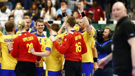Bilder: Sverige–Ryssland