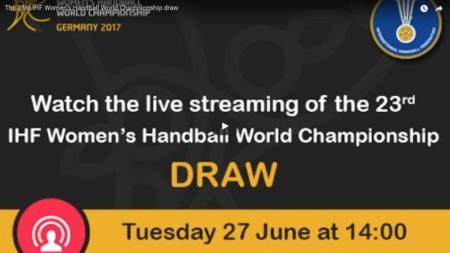 14.00: Följ lottningen till VM i Tyskland