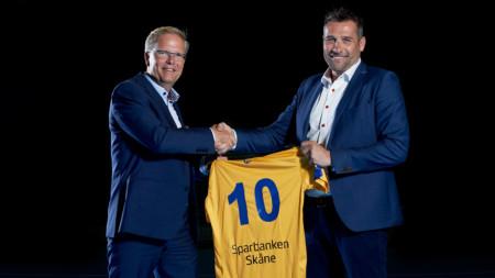 Sparbanken Skåne sluter avtal med Handbollslandslaget