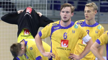 Sverige utslaget efter förlängning