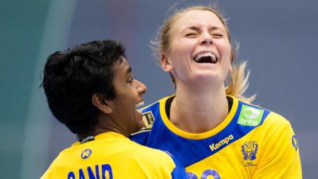 Sverige knäckte Danmark i VM-genrepet