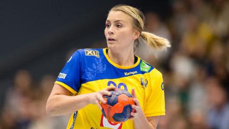 TV: Bella Gulldén inför avfärden till VM