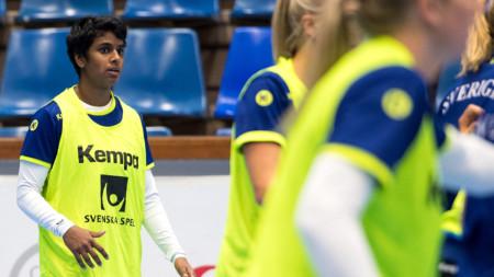 Sverige på plats i Tyskland – Sand hoppfull om spel