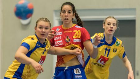 Svensk U17-förlust mot Spanien