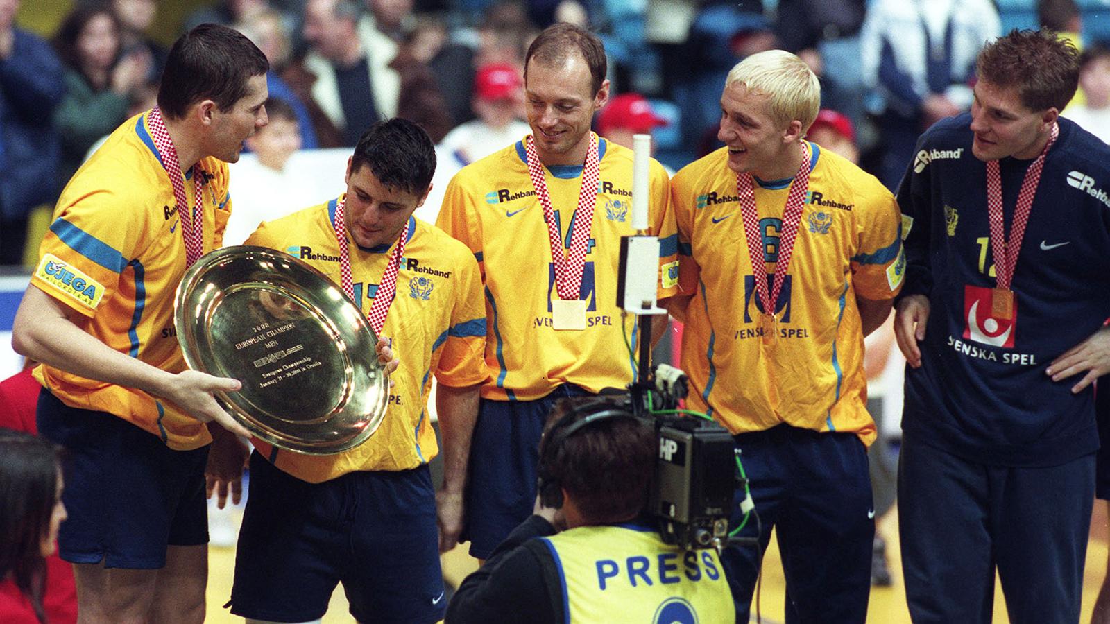 Sverige sjua i handbolls vm