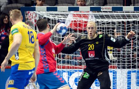 Sverige tog två poäng mot Serbien