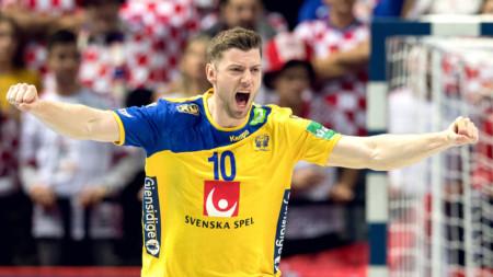 Sverige knäckte Kroatien i Split