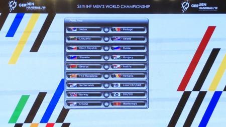 Lottningen till herrarnas VM-playoff klar