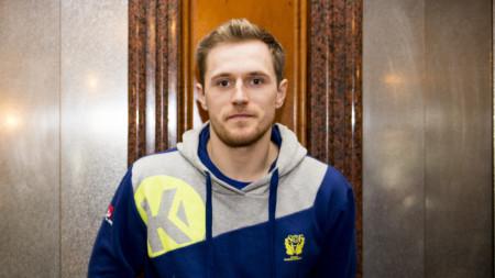 TV: Albin Lagergren inför huvudrundan