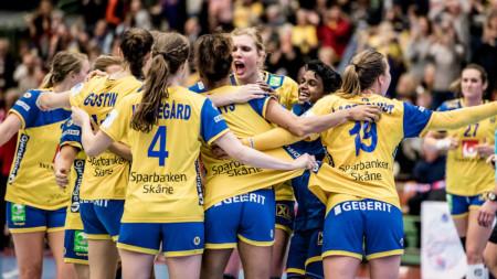 Sverige tog revansch på Serbien