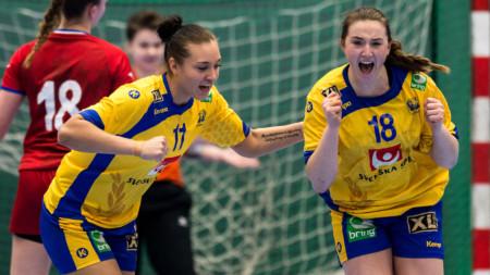 U20-damerna inledde VM-kvalet med seger
