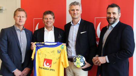 Svensk handboll tecknarnytt sponsoravtal medSvenska Spel