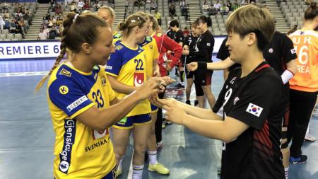 Förlust även i andra matchen mot Sydkorea