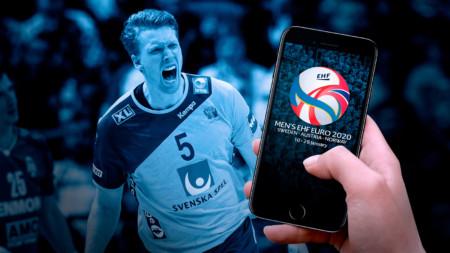 EM 2020 väljer appen Gameday