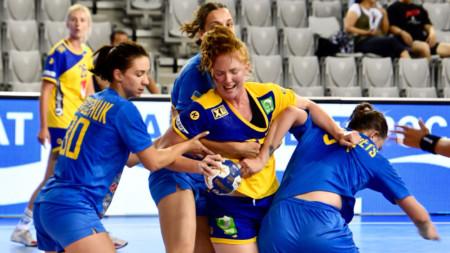 Sverige och Ukraina delade på poängen