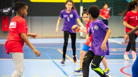 Handbollsupplevelse för 140 ungdomar