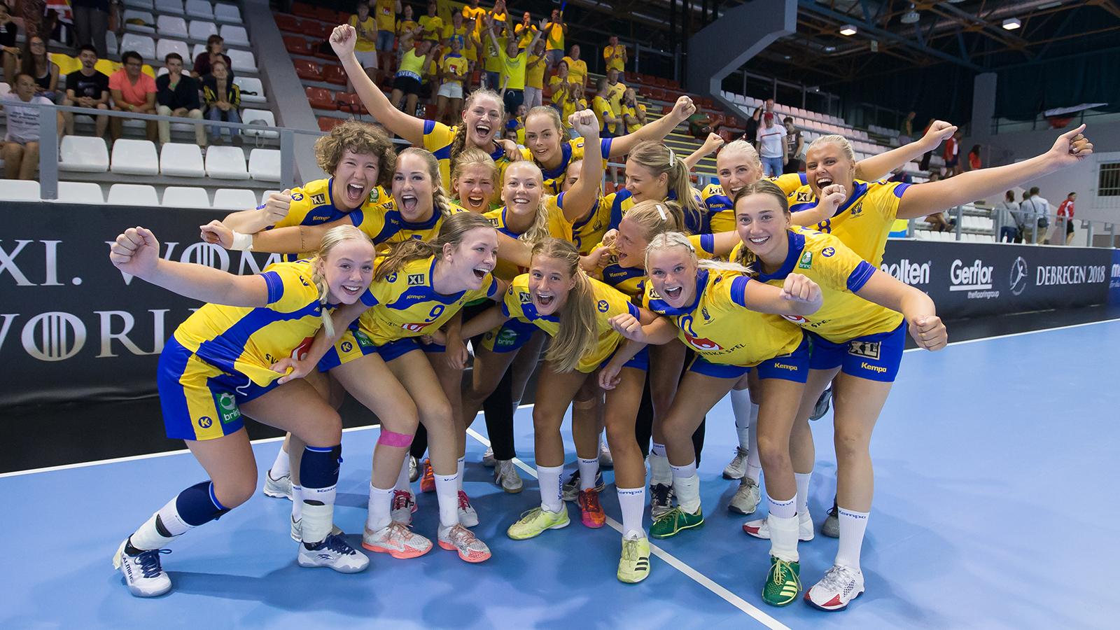 Svensk seger mot egypten