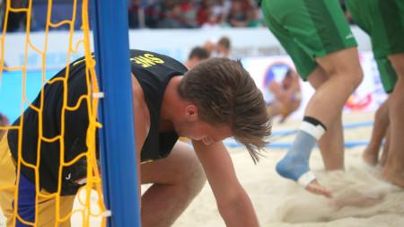 Blytung förlust i bronsmatchen för Sverige
