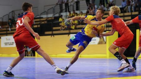 Knapp förlust mot Norge i Portugal