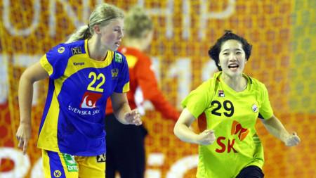 Sydkorea sprang ifrån Sverige i kampen om bronset