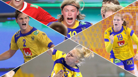 Framtiden ser ljus ut för svensk handboll