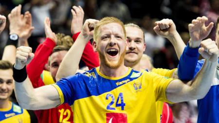 Sverige mot Rysslandi Jönköping och Halmstad