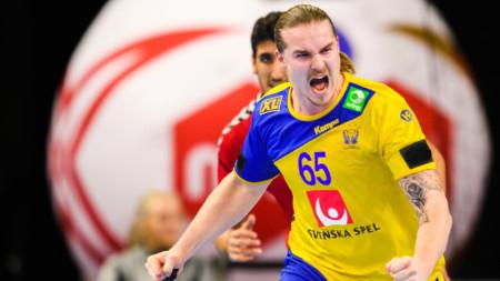 """Lukas Nilsson: """"Gåshud när vi sjöng nationalsången"""""""