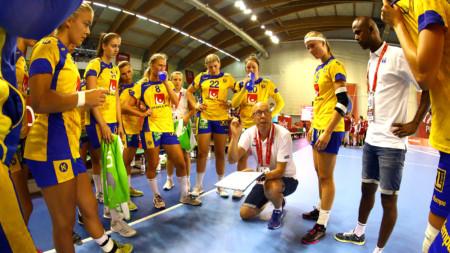 U19-damerna samlas i Lund i mars