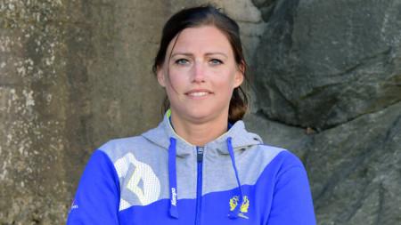 Heléne Bernhardtz nyförbundskapten för beachherrarna