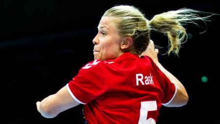 Emma Rask landslagsdebuterar mot Norge
