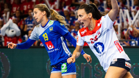Storförlust mot Norge i VM-kvalgenrepet