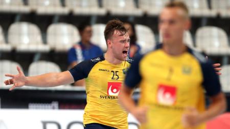 Storseger för U21-herrarna mot Australien