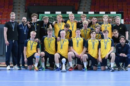 Silver för U17-herrarna i European Open
