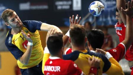 Sveriges U21-herrar utslagna efter slutdramatik