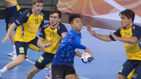 Klar seger för U19-herrarna mot Taiwan