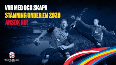 Skapa stämning & bli volontär under EM 2020