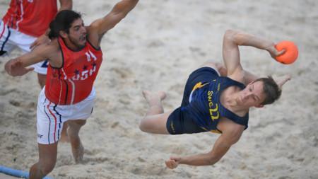 Ny vinst för beachherrarna