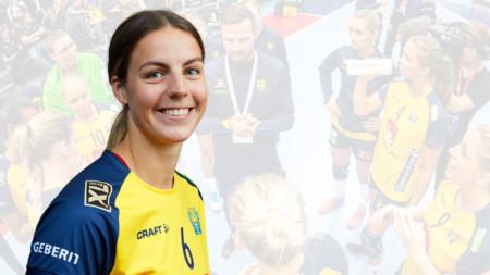 Carin Strömberg svensk lagkapten i VM