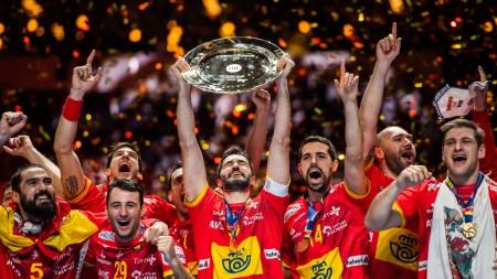 Spanien försvarade guldet