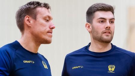 Pettersson & Thurin spelar mot Egypten