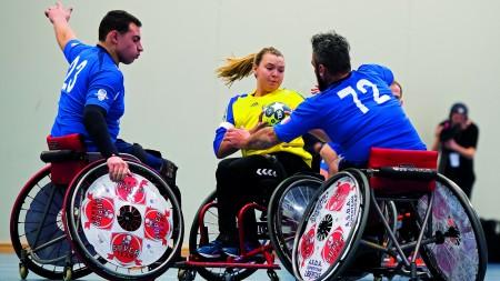 EM i rullstolshandboll till Sverige