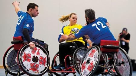 VM och EM i rullstolshandboll uppskjutet