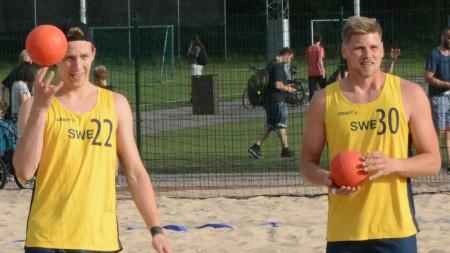 Handbollsskola: 360 med beachlandslaget