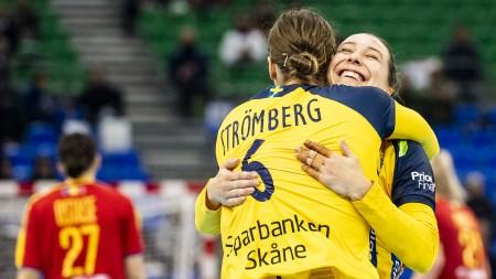 Matcherna mot Polen sänds på SVT Play
