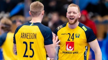 Sverige mot värdnationen i VM
