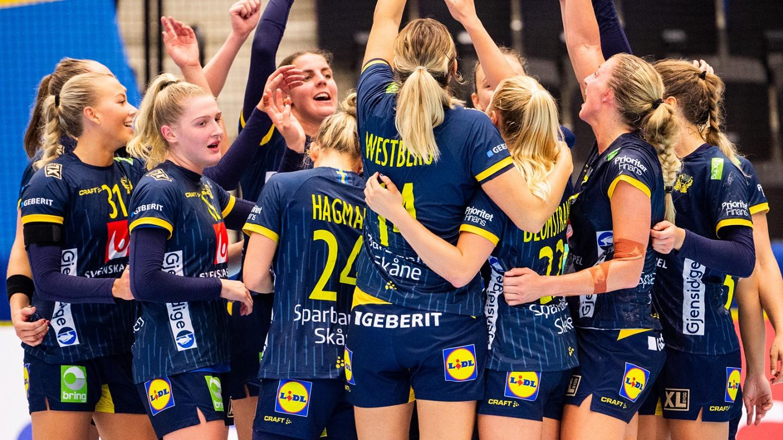 Officiell hemsida för det Svenska Handbollslandslaget