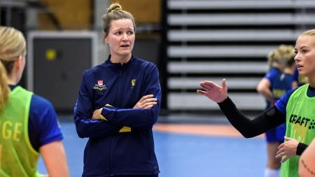 Johanna Wiberg inför debuten som assisterande
