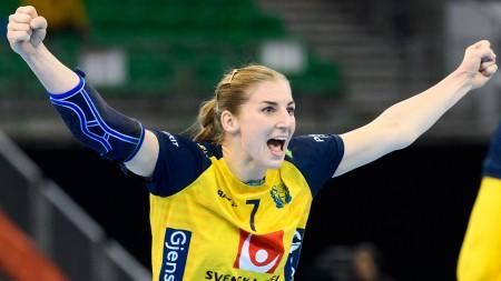 Linn Blohm spelar sin 100:e landskamp